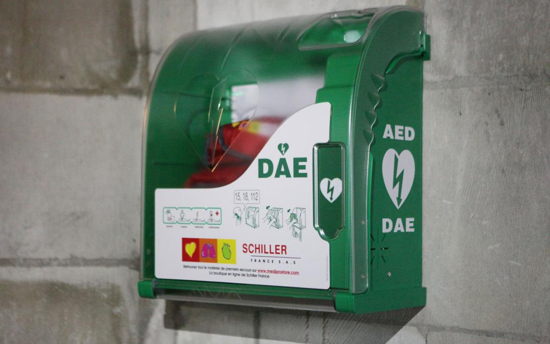 18 nouveaux défibrillateurs automatiques dans les lieux publics