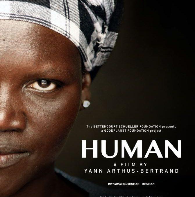 Le film HUMAN en cinéma plein air le samedi 27 juillet au Parc des Moulins
