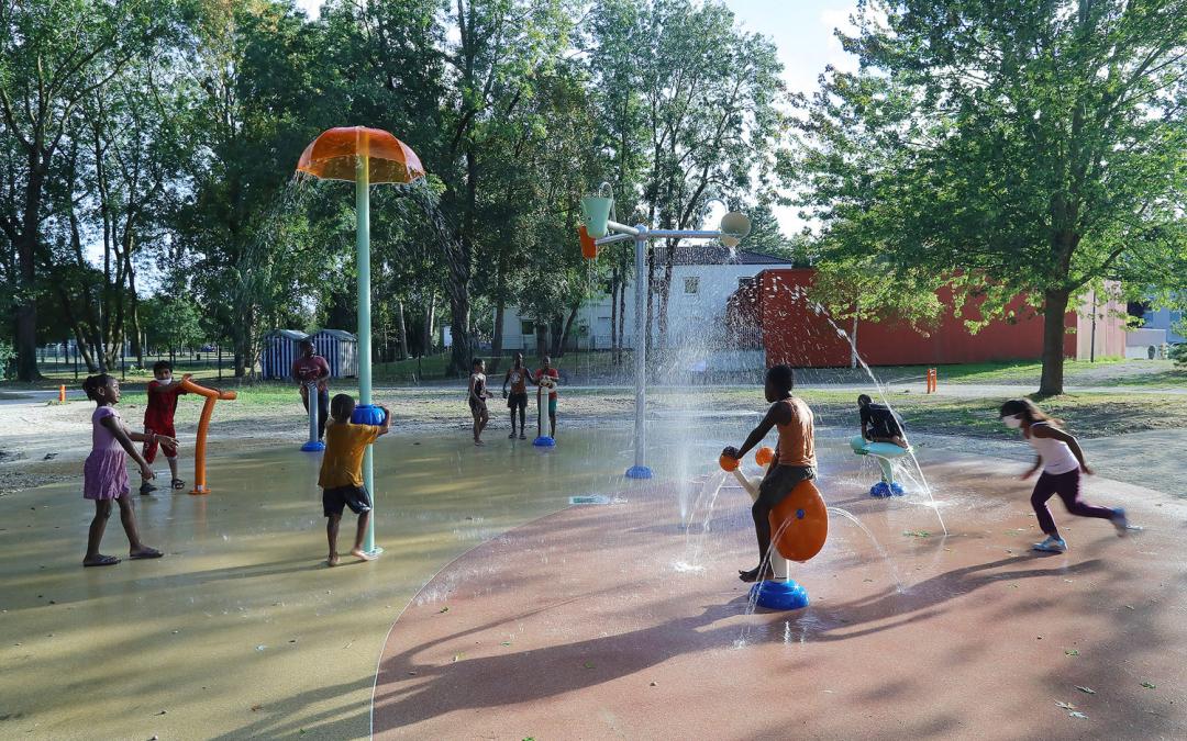 Aires de jeux d'eau