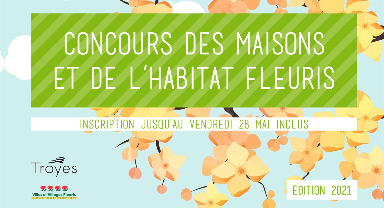 Inscriptions au concours des Maisons et de l'Habitat fleuris