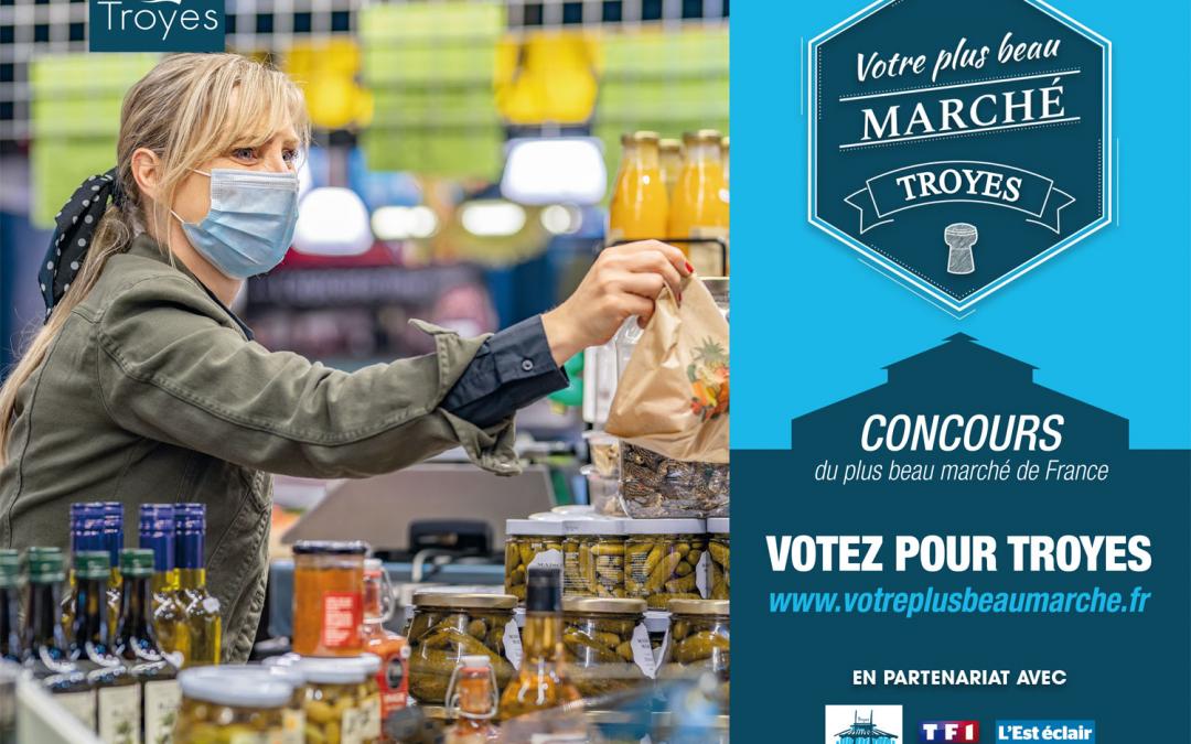 Votez pour le marché des Halles